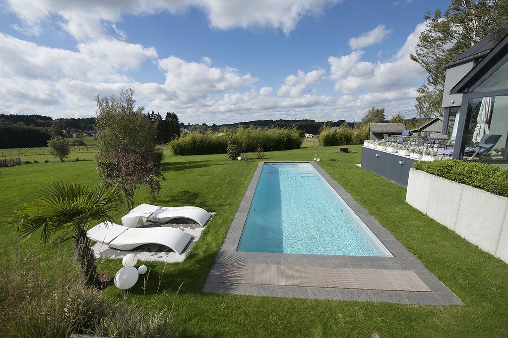 Magnifique projet de bambouseraie et piscine p pini res for Piscine pepiniere